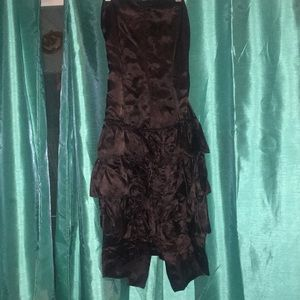 Vintage Black Dress - Size 3/4